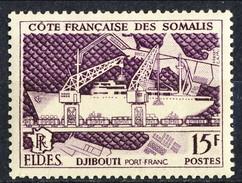 Costa Dei Somali 1956 N. 285 C. 15 MNH Cat. € 2.90 - Unused Stamps