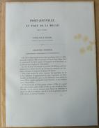 Dpt.1: 1883 - ILE D'YEU - Port De PORT-JOINVILLE Et Port De LA MEULE Port-breton M.Dingler - Livres, BD, Revues