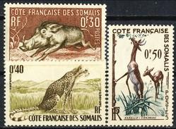 Costa Dei Somali 1958 Serie N. 287-289  MNH Cat. € 3.70 - Unused Stamps