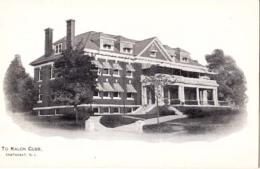 Etats Unis - Rhode Island - Pawtucket - To Kalon Club  : Achat Immédiat - Pawtucket