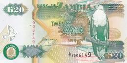 ZAMBIA  20 KWACHA  1992    FDS - Zambia