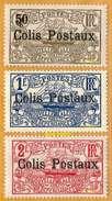 Nouvelle-Calédonie **LUXE 1929 Colis Postaux 1 à 3 Série 3v - Nouvelle-Calédonie