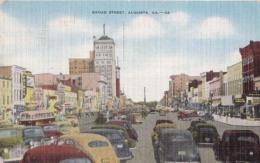 Etats  Unis  - Georgia - Augusta  - Broad Street  : Achat  Immédiat - Augusta