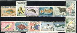Costa Dei Somali 1959 - 60 Serie N. 292-303 MNH Cat. € 60 - Unused Stamps