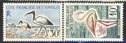 Costa Dei Somali 1959 - 60 N. 297 E N. 301 MNH Cat. € 13.20 - Unused Stamps