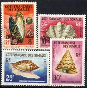 Costa Dei Somali 1962 N. 313-314 MNH, N. 311-312 Usati Cat. € 12.50 - Unused Stamps