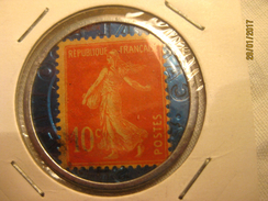Monnaie De Nécessité: Monnaie-timbre Société Générale 10 Centimes - Monétaires / De Nécessité