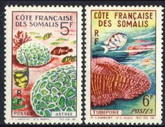 Costa Dei Somali 1963 Serie N. 316-317 MNH Cat. € 5 - Costa Francesa De Somalia (1894-1967)