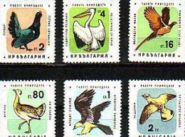 BULGARIA \ BULGARIE  - 1961 - Birds - 6v ** - Bulgarie