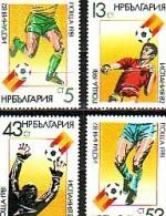 BULGARIA \ BULGARIE - 1981 - World Footballe Cup - Espana 1982 - 4v - MNH - Bulgarie