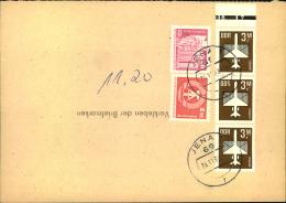 1989, Gebühr Für Eine Am Münzfernsprecher Aufgegebenes Telegramm 11,20 M - [6] République Démocratique