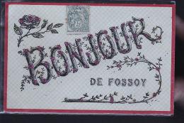 FOSSOY CARTE RELIEF - Sin Clasificación