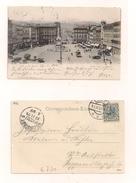 AK Linz A.d.Donau - Kaiser Fran Josefsplatz - 17.11.1904 - Echt Gelaufen - Linz