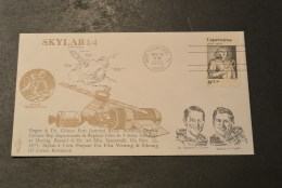 Ru626- FDC  USA-  1973- Skylab - 1-4  - Star Tracker - Oceanië
