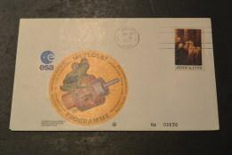 Ru664- FDC -USA -1977- ESA- Meteosat Programme - USA