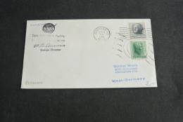 Ru823- FDC - Adressed -  USA - 1967- NASA - Data Acquisition Facility Signed Dennis - United States