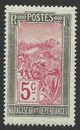 Madagascar, 5 C. 1922, Scott # 83, MH. - Ungebraucht