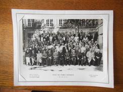 ECOLE DES FRANCS BOURGEOIS PARIS ANNEE SCOLAIRE 1976-1977 PHOTO DAVID ET VALLOIS 23 RUE GUSTAVE REY LA GARENNE COLOMBES - Fotos