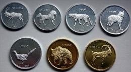 Nagorno Karabakh Set Of 7 Coins 2013 UNC