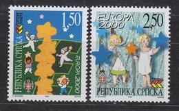 Europa Cept 2000 Bosnia/Herzegovina Serbia 2v  ** Mnh (34709) - Europa-CEPT