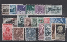 1954 Italy Repubblica  1954 Annata Cpl 20 Val. MNH - 1946-60: Nuovi