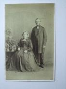 CDV - Husband And Wife Portrait - J. Weston - Folkestone - Photos