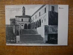 Italie , Roma , Ex Convento Di S. Onofrio , L'esterno (XVsecolo ) - Autres