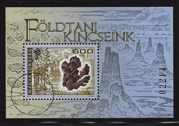 HUNGARY - 2016. SPECIMEN Souvenir Sheet - Hungary's Geological Treasures/Late Miocene Swamp Cypresses From Bükkabr - Gebraucht