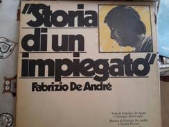 LP 33 Fabrizio De Andrè Storia Di Un Impiegato 1973 - Vinylplaten