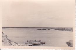 Foto Dnjepr Bei ...(?) - Brücke Und Fähre - Übergang Am 15.9.1941 - 9*6cm (27024) - War, Military