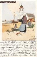 ILLUSTRATEUR NEDERLAND KATWYK PAYS-BAS HOLLAND W. DE HAAN UTRECHT SERIE K. 6 DESS. 1900 - Illustratoren & Fotografen
