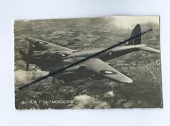 """CPSM Rétrécit - Avion , Aviation - R.A.F. Le  """" Mosquito"""" - Avions"""