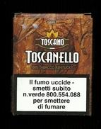 Tabacco Pacchetto Di Sigari Italia - Toscanello Tabacco Kentucky Da 5 Pezzi - Tobacco-Tabac-Tabak-Tabaco - Scatola Di Sigari (vuote)
