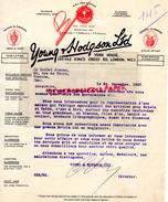 ROYAUME UNI- ANGLETERRE- LONDON- YOUNG & HODGSON - YORK HOUSE-140 KING'S CROSS RD- POTTERY PORCELAIN- 1927 - Royaume-Uni