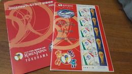Stamps - FIFA World Cup 2002, Korea-Japan, Blok Stamps