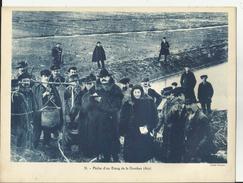 Gravure - Enseignement - Années 50/60 -01 - Ain - Peche D'un Etang De La Dombe- Beau Plan   -Réf 04- - Historical Documents