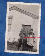 2 Photos Anciennes - Portrait D'une Famille De Guadeloupe Venu S'installer à Paris - Années 1950 - Antilles Antillais - Ohne Zuordnung