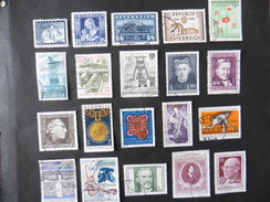 Autriche : 20 Timbres Oblitérés - Briefmarken