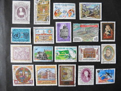 Autriche : 19 Timbres Oblitérés - Colecciones (sin álbumes)