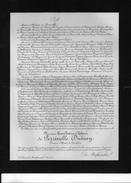 De Perrinelle Dumay Officier Cavalerie +1905 Gauvin St Louis De Montferrand Gironde Cossart D'Espies BOITOUZET D'ORMENAN - Obituary Notices