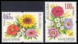 BULGARIA \ BULGARIE - 2012 - Fleurs - 2v** - Végétaux