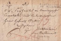 Bayern Brief L2 R3 Würzburg 13.3.1818 Mit Inhalt - Bayern