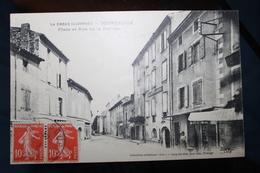 B2 - 26 - DROME  - BOURDEAUX - Place Et Rue De La RECLUSE - France