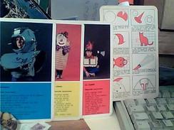 10 SCHEDE TECNICHE 1970  X FARE COSTUMI MASCHERE CARNEVALE DI CARTA X BAMBINI    FY11371 - Carnaval