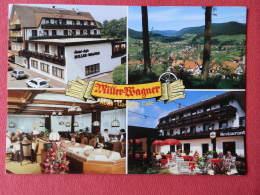 Deutch , Cpm  Hotel MILLER WAGNER , 72270 BALERSBRONN  , Multivues ( 02.057) - Unclassified