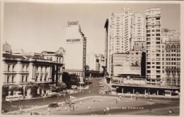 Rio De Janeiro Brazil, Hotel Quitandinha, Larco Da Carioca Street Scene Autos C1930s Vintage Photograph Like Postcard - Places