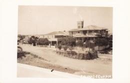 Salinas Ecuador, Hotel(?) Large Building Architecture C1940s Vintage Real Photo Postcard - Ecuador