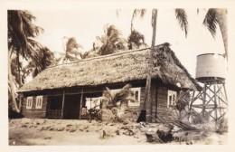 Playa De Salado Honduras, Unidentified Building With Water Tower, C1940s Vintage Real Photo Postcard - Honduras
