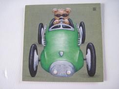 CPA Le Bolide Vert Raphaele Goisque  T.B.E. 14 X 14 Cm - Arts