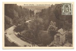 +++ CPA - HAMOIR SUR OURTHE - La Porte Des Ardennes    //
